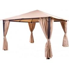 Комплект плотных штор, для шатра 3х3м, на петлях, бежевые