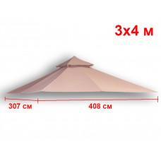 Крыша для прямоугольной беседки 307х408 см