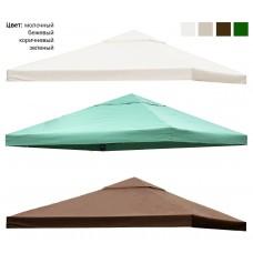 Крыша для беседки с клапаном 3х3 см с окантовкой