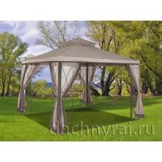 Павильон садовый Пелагея с москитной сеткой  3 х 3 м