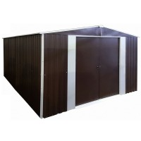 Металлический сарай Barnas 3x4м