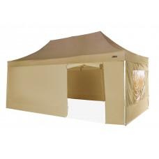 Быстросборный шатер автомат 4361 Helex, 3х6м, бежевый