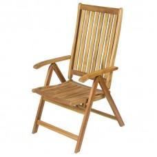 Кресло садовое раскладное, 5 позиций