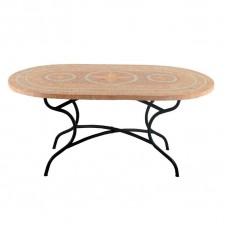 Стол садовый керамический  90x75x160 см