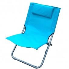 Стул пляжный синий, 400x610x400 мм