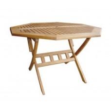 Стол складной из Эвкалипт, 120см