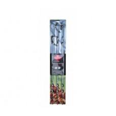 Набор шампуров в блистере, 60см
