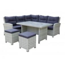 Угловой набор ротанговой мебели