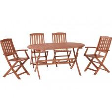 Комплект мебели из эвкалипт, 5 предметов