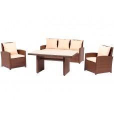 Комплект мебели из искуственный ротанг, 4 предмета