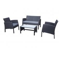 Комплект мебели из искусственного ротанга, 4 предмета