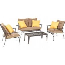 Комплект мебели из стали, 4 предмета