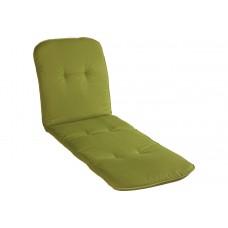 Подушка для шезлонга зеленая