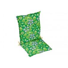 Подушка для садовой мебели, зеленая