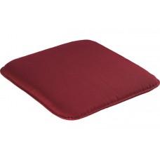 Подушка для садовой мебели бордовая