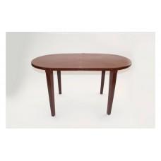 Стол пластиковый овальный шоколадный