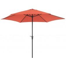 Зонт садовый терракота