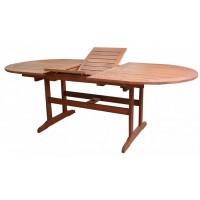 Садовый деревянный стол AWARD 89546, акация из Малайзии, раздвижной