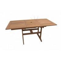 Садовый деревянный стол SOLID, акация из Малайзии, раздвижной
