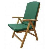 Садовое деревянное кресло BALI TGF с подушкой, тик