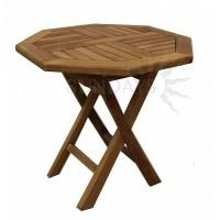Садовый деревянный складной мини-стол TGF-038, 50*50см, тик