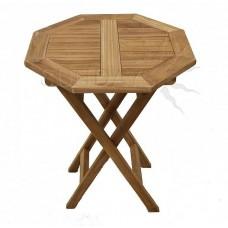Садовый деревянный складной стол TGF-206 А, тик