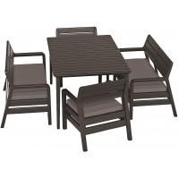 Комплект Делано со столом Лима 160 (Delano set with Lima table 160)