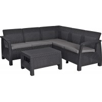 Угловой комплект мебели Corfu Relax Set (Корфу Релакс Сет)