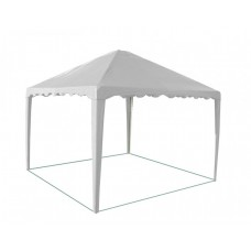 Садовый Тент 2,5х2,5м усиленный каркас, без стенок, белый