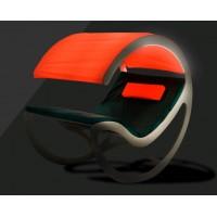 Шезлонг-качалка комплектация с подсветкой