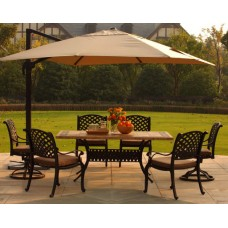 Садовый зонт GardenWay A002-3500 бежевый