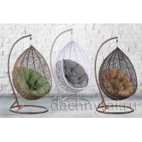 Плетеное подвесное кресло Лотос (219) 127х90х68 см