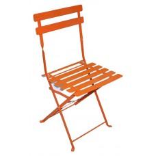 Стул складной, оранжевый
