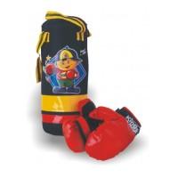 Детская груша для бокса с перчатками