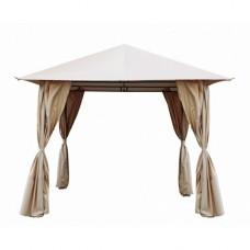 Комплект плотных штор для шатра 3х3, цвет бежевый