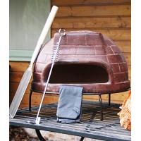 Дровяная печь для пиццы СИЦИЛИЯ_68 большая (цвет кирпичный)