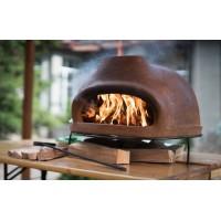 Дровяная печь для пиццы ТОСКАНА_68 большая (цвет темно-коричневый)