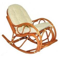Кресло-качалка с подножкой (Мед)