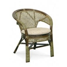 """Кресло для отдыха плетеное из ротанга """"Пеланги"""" (Браун)"""