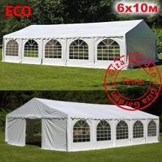 Шатер павильон Giza Garden 6х10м белый EKO