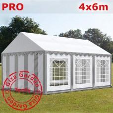 Шатер Giza Garden 4x6 серо-белый PRO
