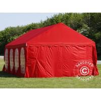 Шатер Giza Garden 5x10м красный PRO
