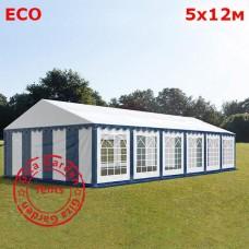 Шатер Giza Garden 5x12м бело-синий ECO