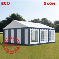 Шатер Giza Garden 5 x6м сине-белый ЭКО