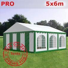 Шатер Giza Garden 5 x6м зелено-белый PRO