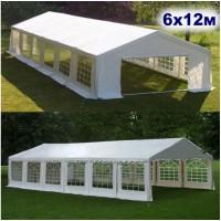 Большой шатер павильон AFM-1030W White 6х12м