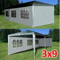 Садовый шатер AFM 1045A green/white 3х9м
