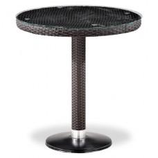Плетеный стол T504T-W2390-D70 Brown