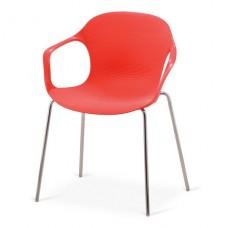Стул пластиковый XRB-078-BR Red