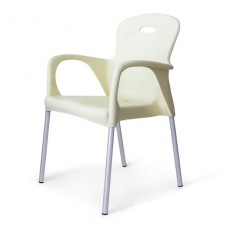 Стул пластиковый XRF-065-BW White